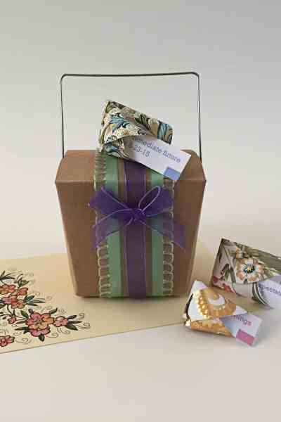 Onesie Baby Shower Gift – With Chinese Takeout Boxes