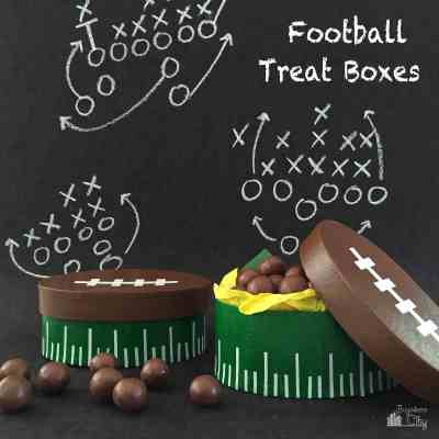 DIY Football Treat Boxes
