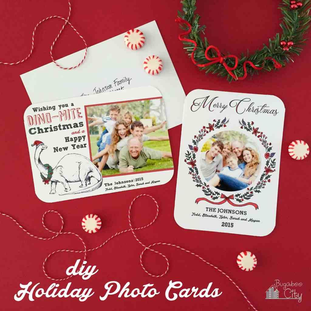 DIY Holiday Photo Cards
