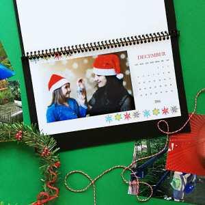 DIY Desktop Calendar 2016