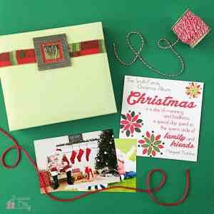 Christmas Family Scrapbook