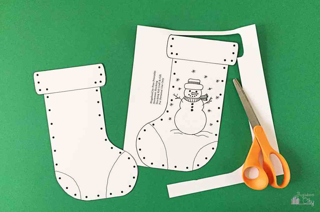 Kid's Christmas Stocking Craft