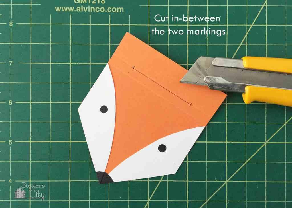 DIY Fox Notepad