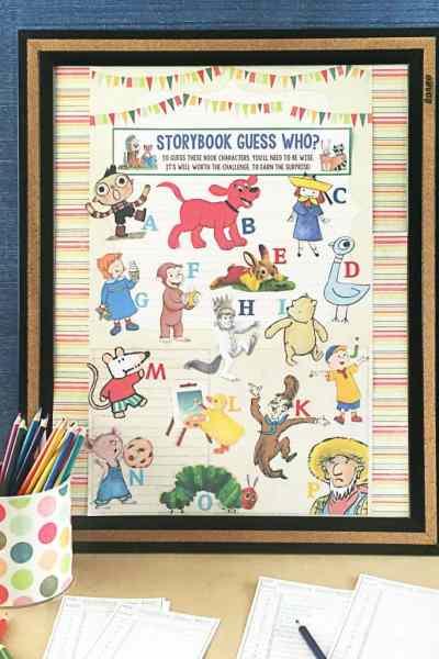 DIY Storybook Party Game