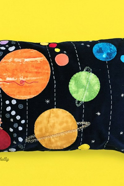 DIY Solar System Pillow