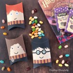 Harry Potter Pillow Boxes Crafting Cheerfully
