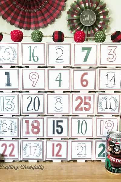 DIY Beer Advent Calendar