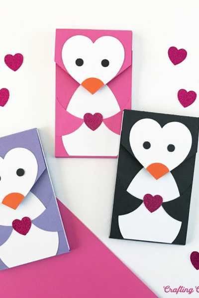 DIY Penguin Notepads with Free SVG File