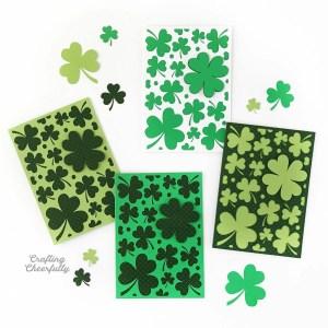 DIY St. Patrick's Day Card – Free SVG Cut File