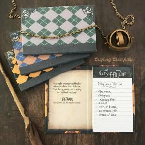 DIY Harry Potter Notepads