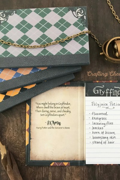 DIY Harry Potter Notepads