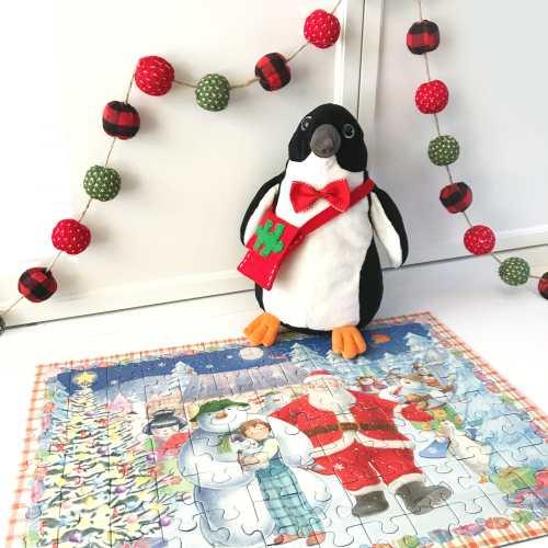DIY Puzzle Advent Calendar