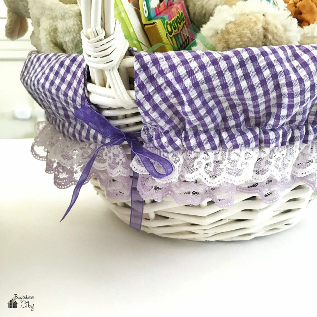 DIY Easter Basket Liner Tutorial