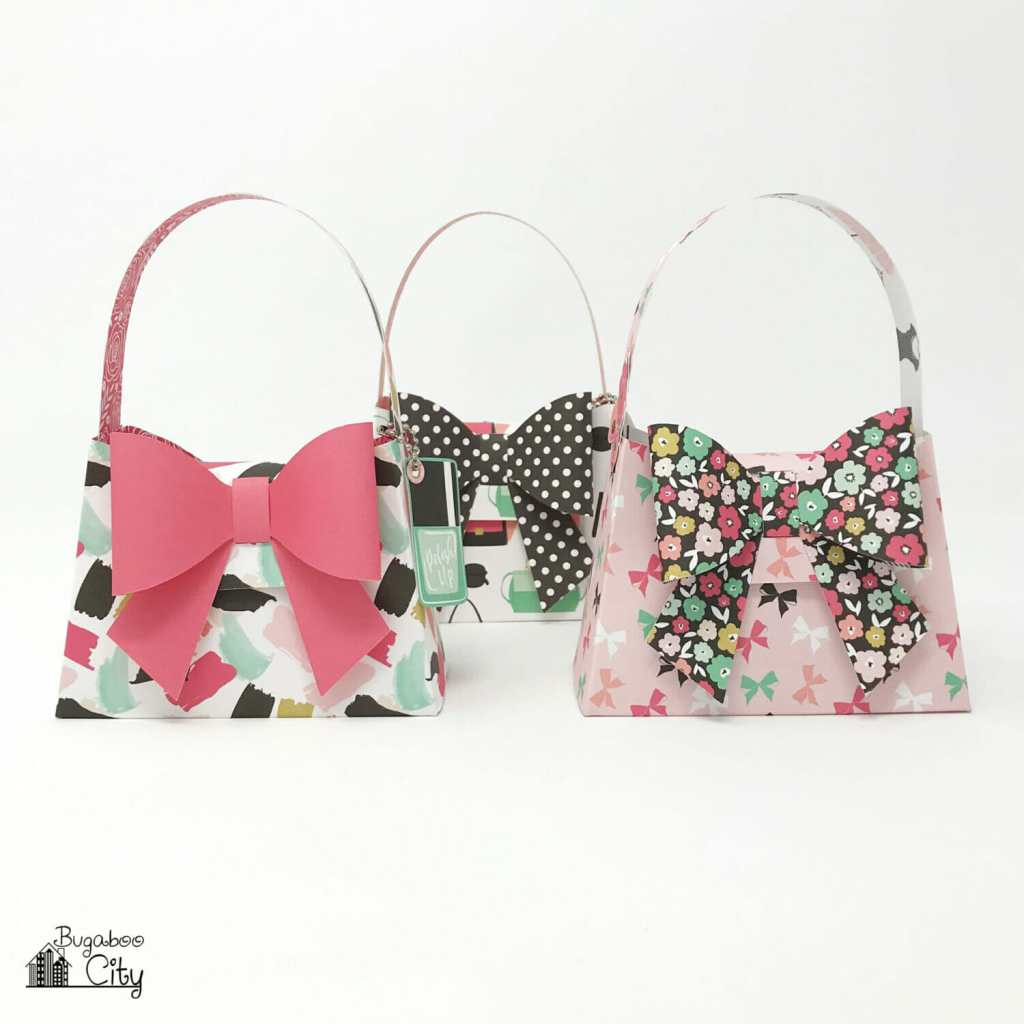 DIY Paper Purses with Free Pattern and SVG Cut File