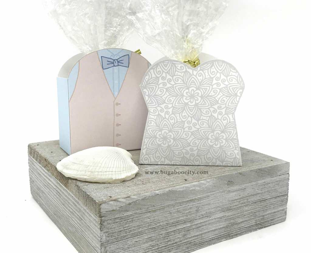 DIY Menswear Groom Treat Box