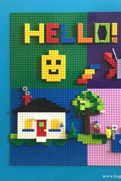 DIY LEGO Wall Makerspace
