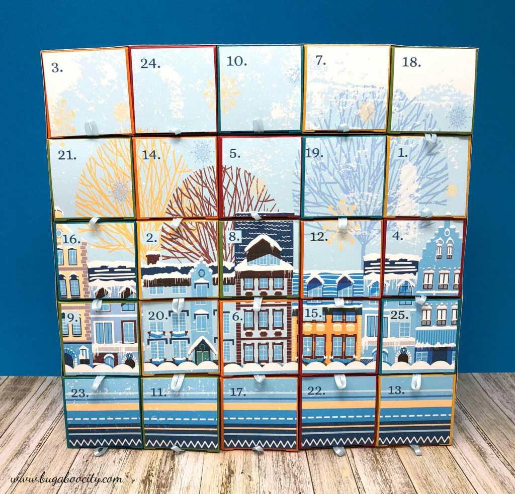 DIY Advent Calendar with Free Printables