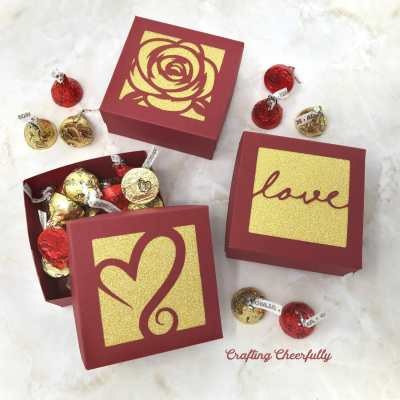 Valentine's Day Treat Boxes – SVG Cut Files