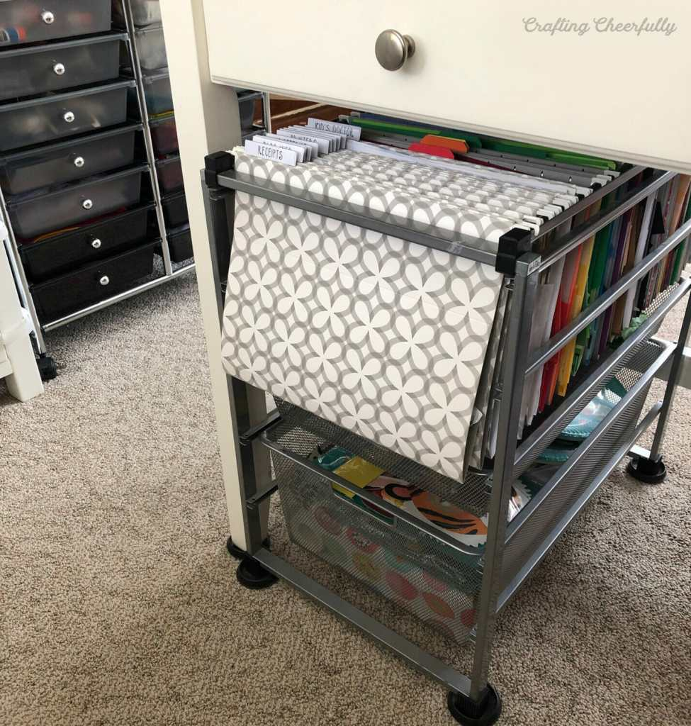 How to Organize your Scrapbook Paper