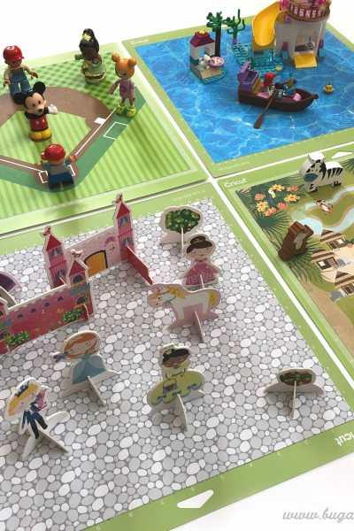 DIY Small World Play Mats – Using Old Cricut Cutting Mats