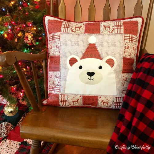 DIY Polar Bear Pillow