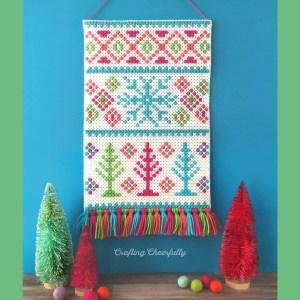 Winter Wonderland Wall Hanging – New Cross Stitch Pattern!