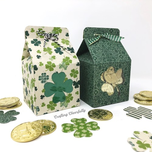 DIY St. Patrick's Day Treat Boxes