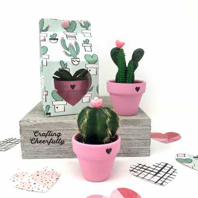 DIY Valentine's Day Gift Boxes – with Cute Cactus Gifts!