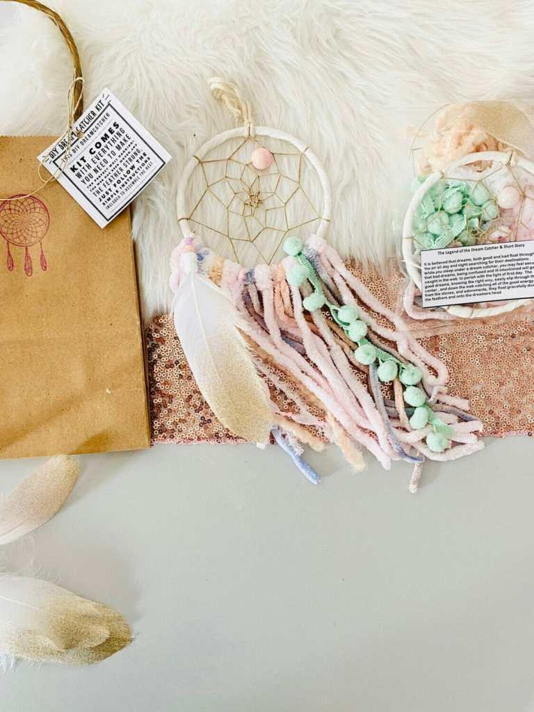 Bohemian Blush DIY Dream Catcher Kit