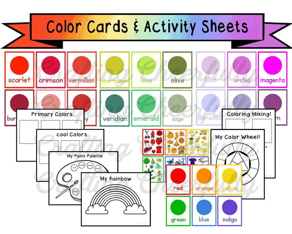 Color Cards and Activity Sheets
