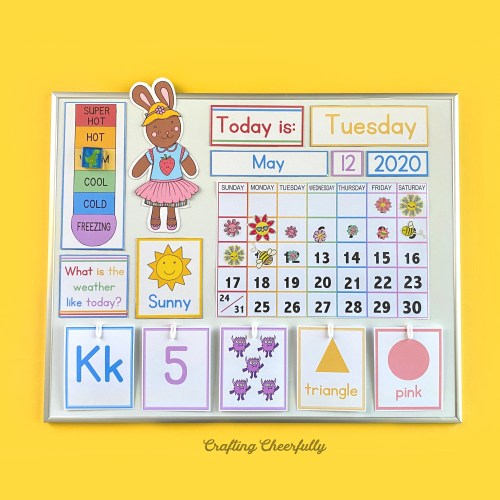 New Preschool Learning Cards