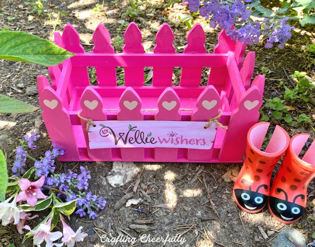 DIY Wellie Wishers Book Box - Wellie Wisher Craft Project!