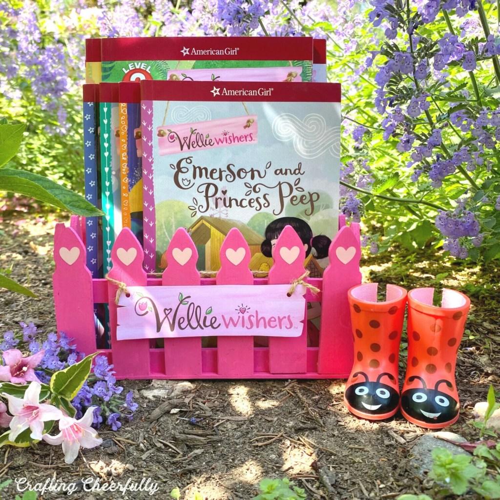 DIY Wellie Wisher Book Box - Wellie Wisher Craft Project!