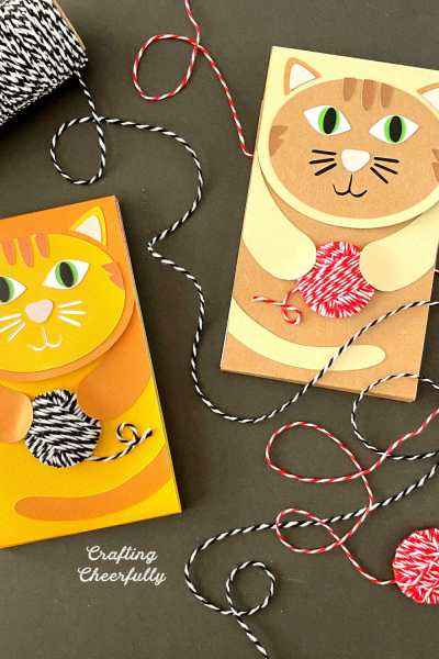 DIY Cat Notepad – SVG Cut File