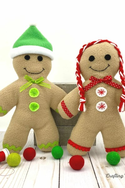 Fleece Gingerbread – Free Sewing Pattern