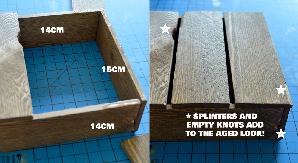 How to make a miniature farm crate from scratch   Crafting Fingers