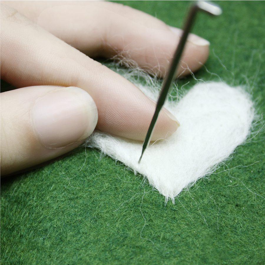 Get started needle felting photo tutorial