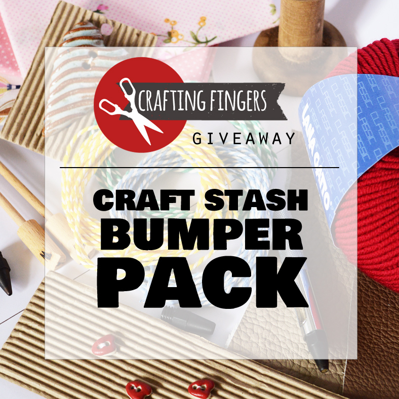 Giveaway | goodies for your craft stash craftingfingers.co.uk