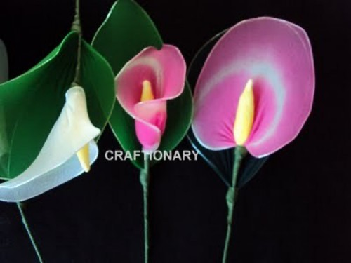 how-to-make-nylon-flower-calla-lily-tutorial-diy