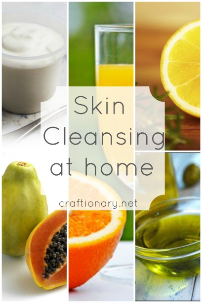 skin cleansing at home