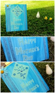 mothers day canvas