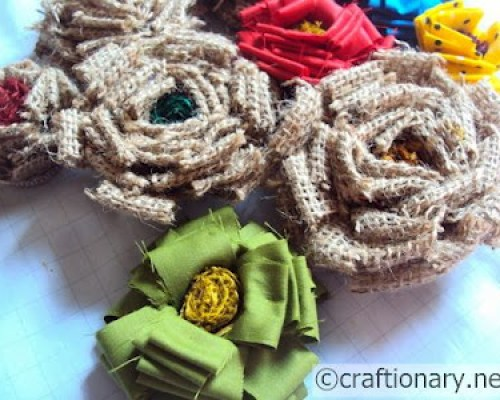 burlap-diy-handmade-flowers
