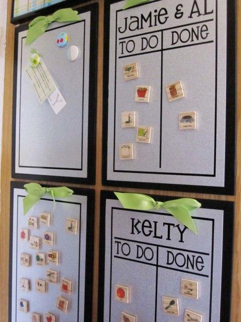 magnetic planner for kids