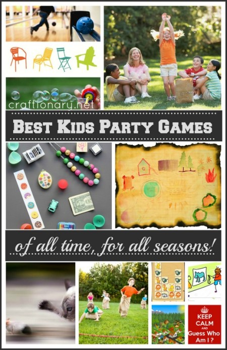 Best Kids Party Games