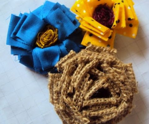 make flowers diy