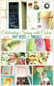 celebrating spring party