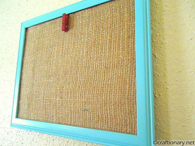 easy clip clothespin display frame