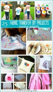 fabric transfer paints