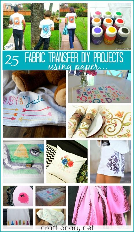 fabric transfer paints