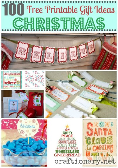 100 Christmas best ideas free printables
